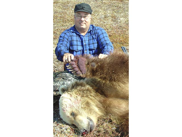 Mr Jim Townsend Texas USA And 600 700lb Grizzly Taken With Winchester 1886 50 110 WCF And Woodleigh 510 500gr Weldcore Flat Nose Soft Nose Bullet