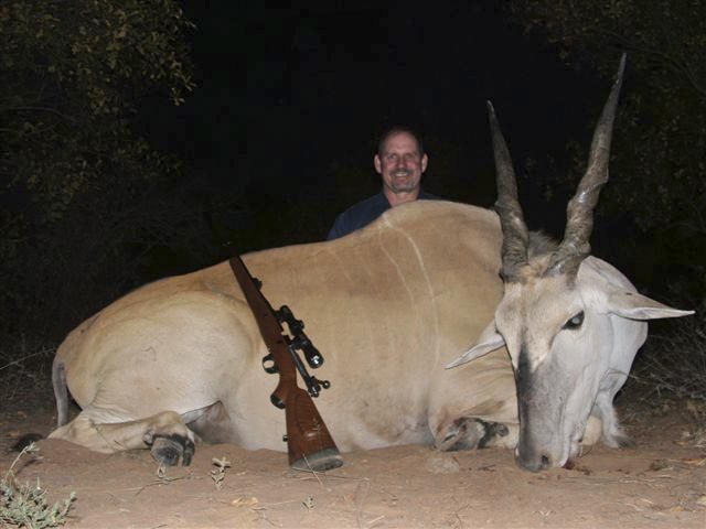 Mr John Murdoch And Eland Taken With FN Mauser And Woodleigh 366 286gr Weldcore Protected Point Soft Nose Bullet