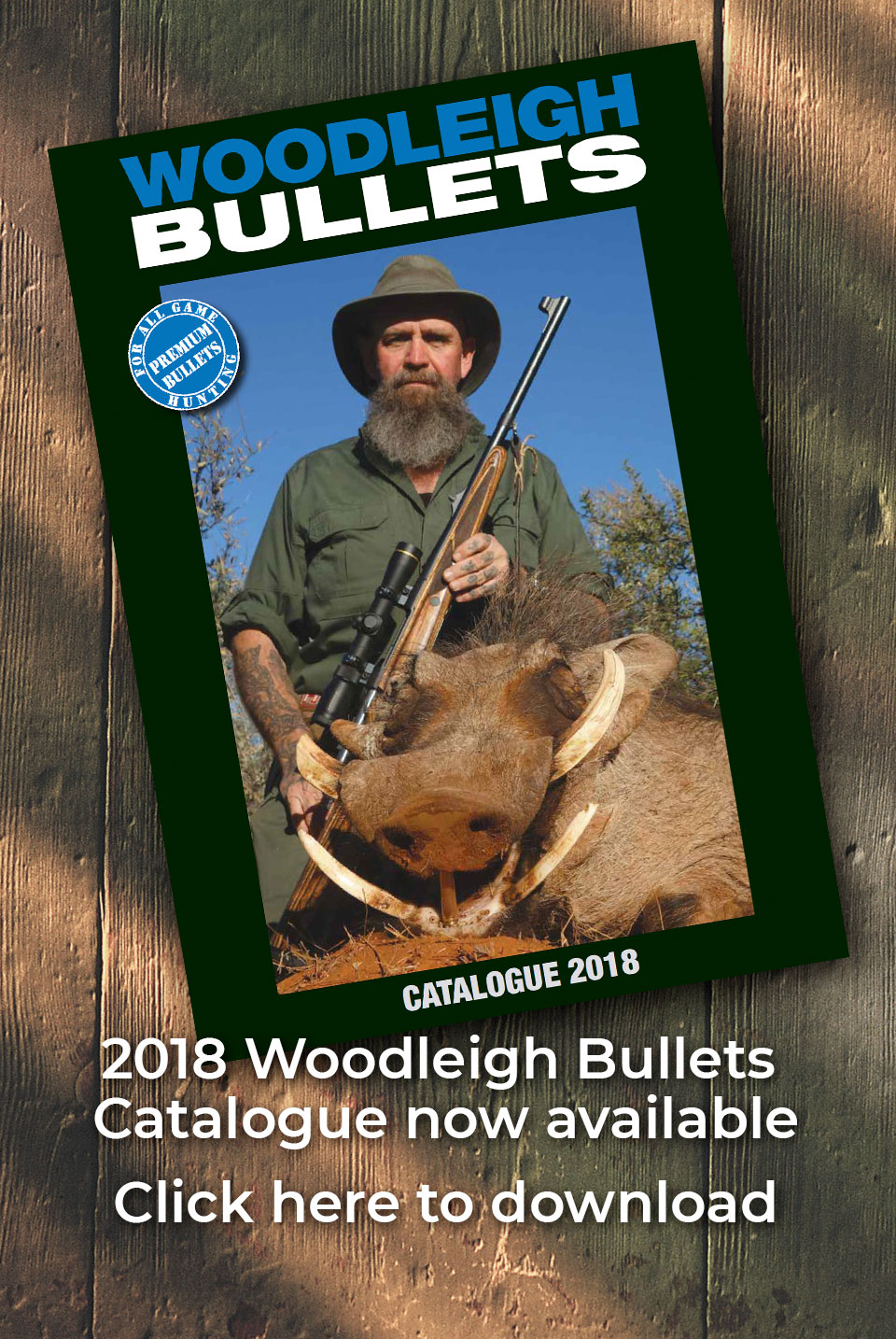 Woodleigh Bullets 2018 Catalogue