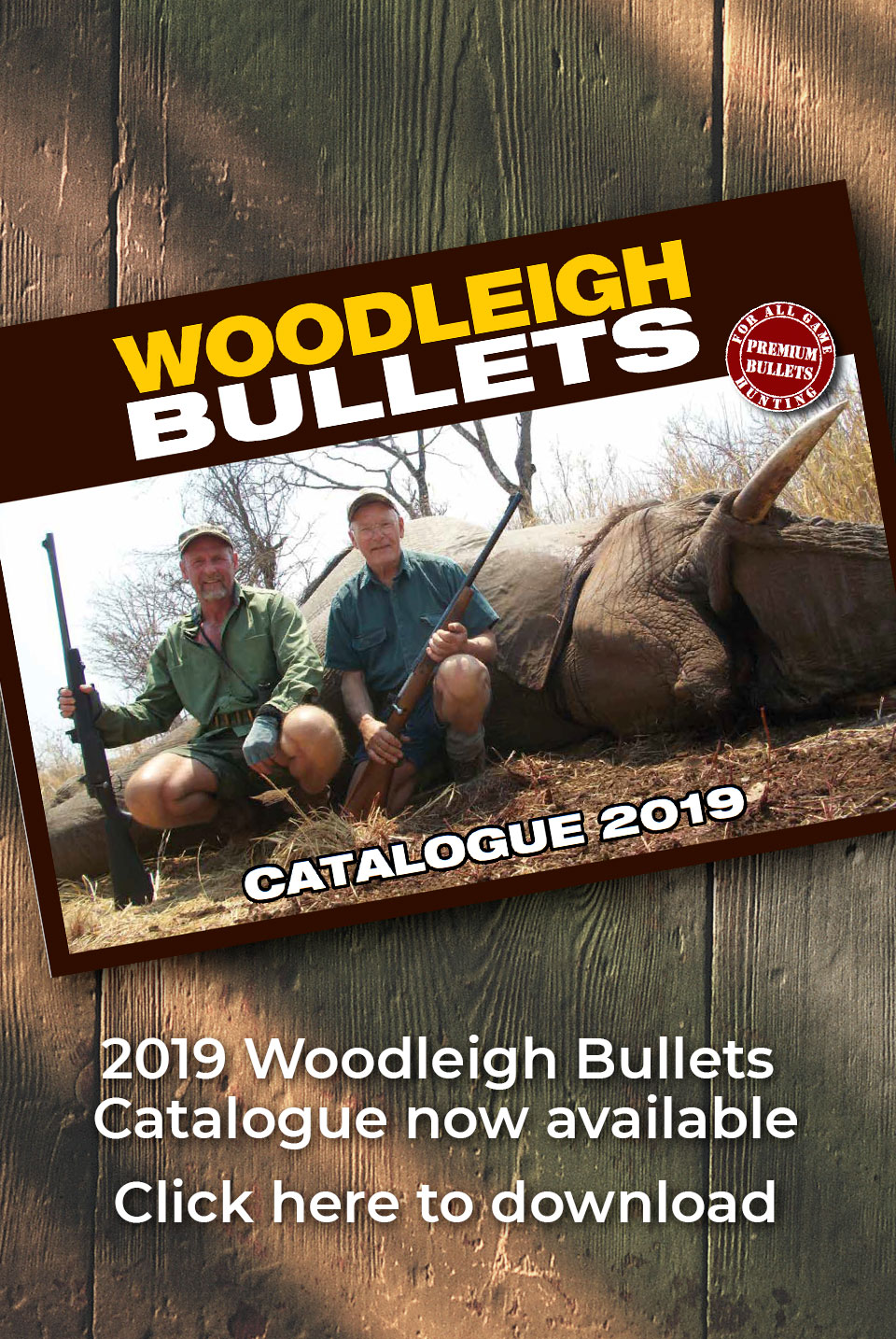 Woodleigh Bullets 2019 Catalogue